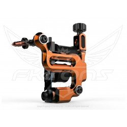 FK Irons AL13 Color Packer Tattoo Machine - Tangerine