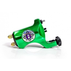 Bishop Rotary Tattoo Machine – Emerald Green – Clip Cord Model