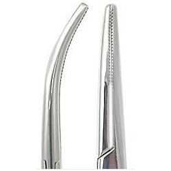 "5 1/2"" HEMOSTAT KELLY FORCEPS CURVED Hemostats"