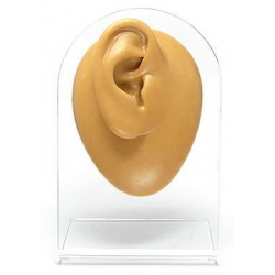 Silicone Right Ear Display - Tan Body Bit Version 1