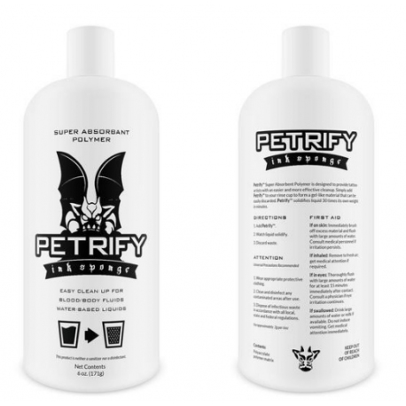 Petrify 6oz Needle Nose Bottle - Bio Gel - Clean Up Your Rinse Cups